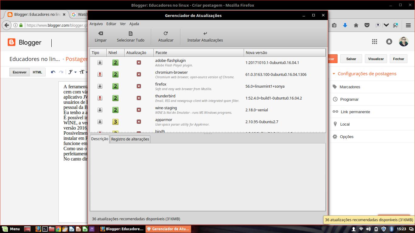 Instalando o Watchtower Library no Linux - Educadores no Linux
