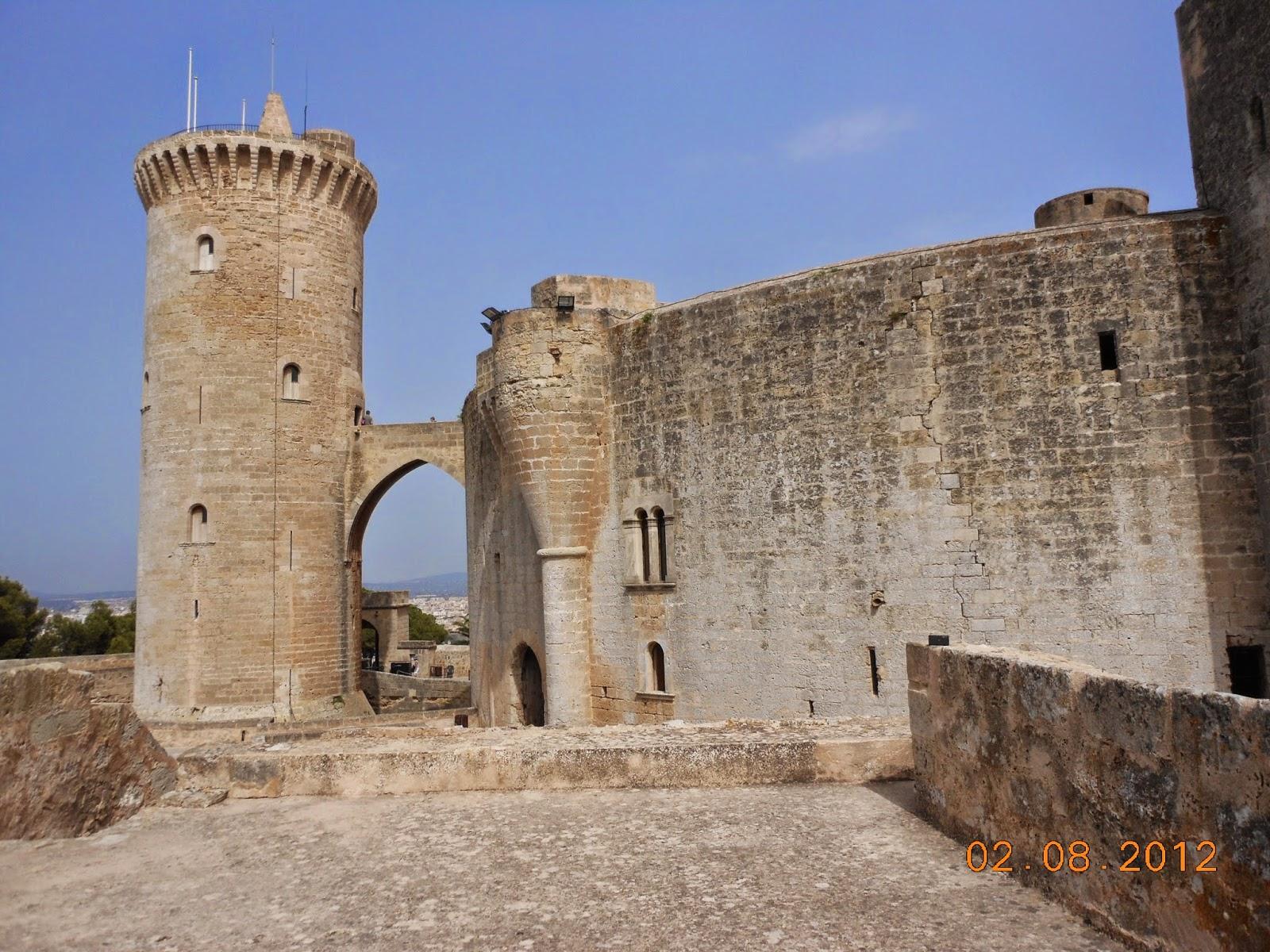 Castelo Bellver - Palma de Maiorca - Espanha