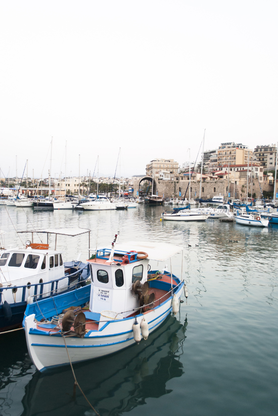 Around Crete: The old port of Heraklion | My Paradissi ©Eleni Psyllaki