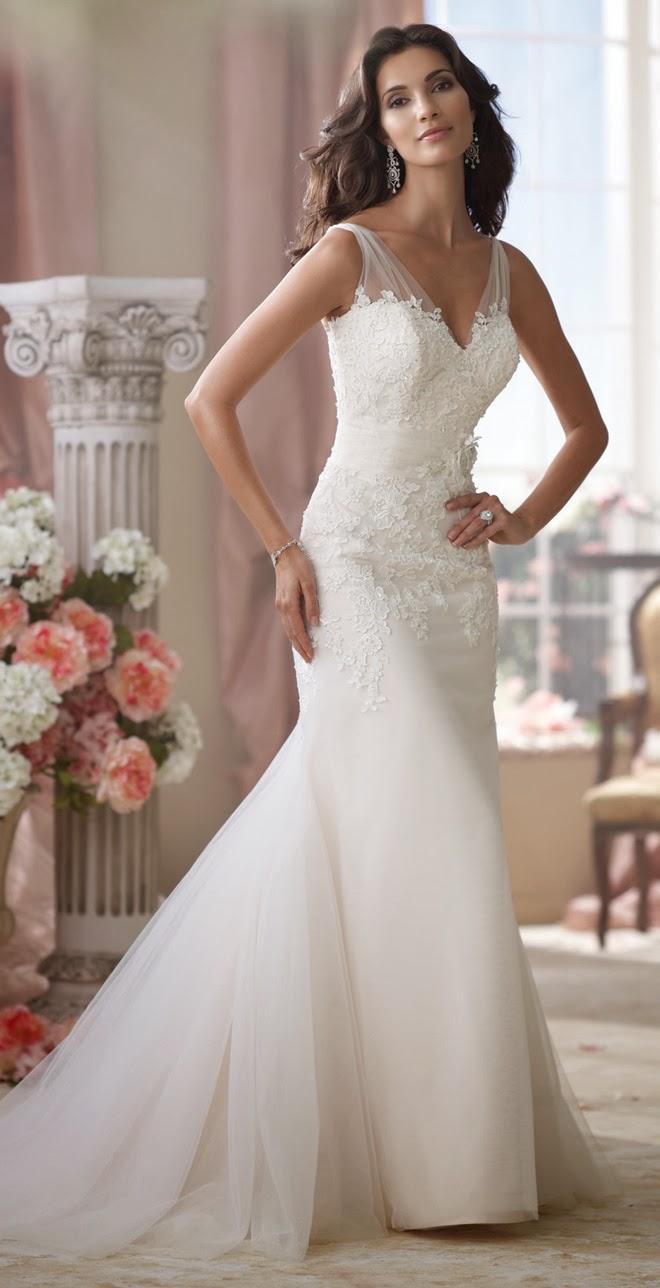 David tutera for mon cheri spring 2014 bridal collection for Wedding dresses spring tx