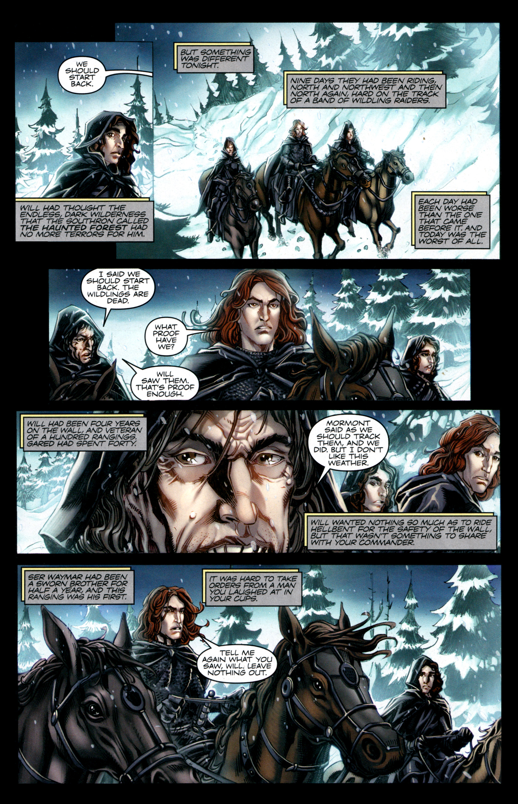 Read online A Game Of Thrones comic -  Issue #1 - 3