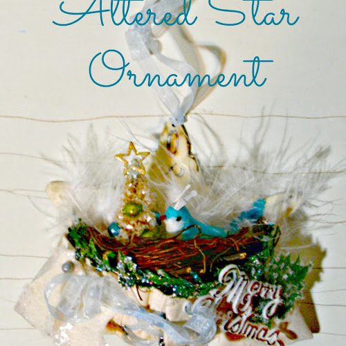 Ornament Exchange - Altered Star Ornament