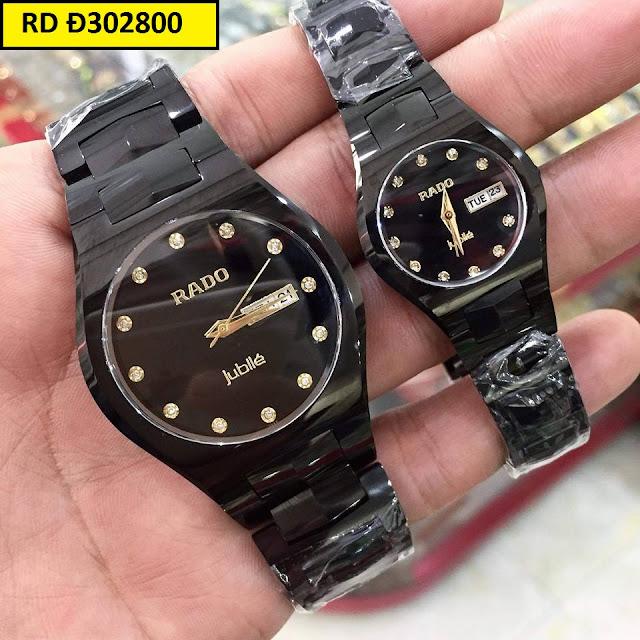 Những mẫu đồng hồ cặp đôi Rado đẹp nhất