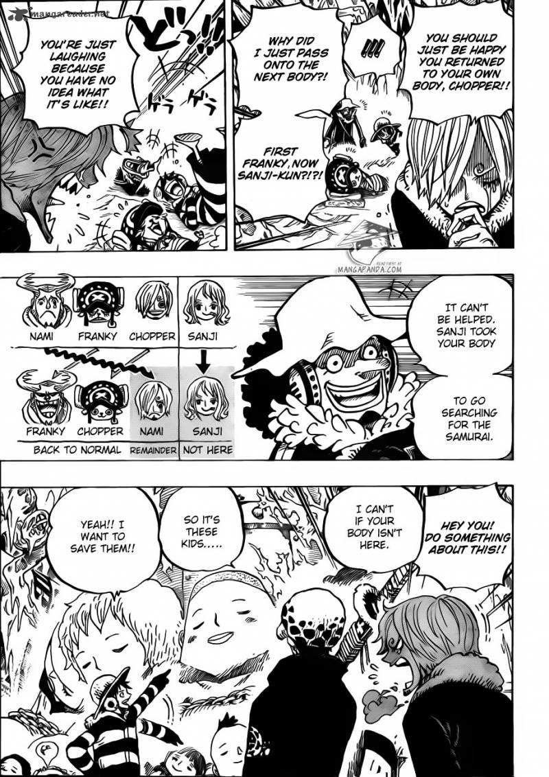 One Piece 668 Pirate Alliance