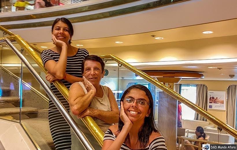 Curtindo o dia de navegação no navio - Diário de bordo: Cruzeiro pelo Caribe