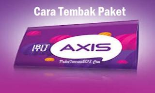 Cara Terbaru Tembak Paket Kuota Axis Terbukti Work