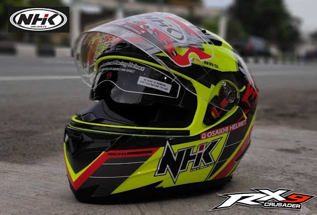Review Helm NHK RX9