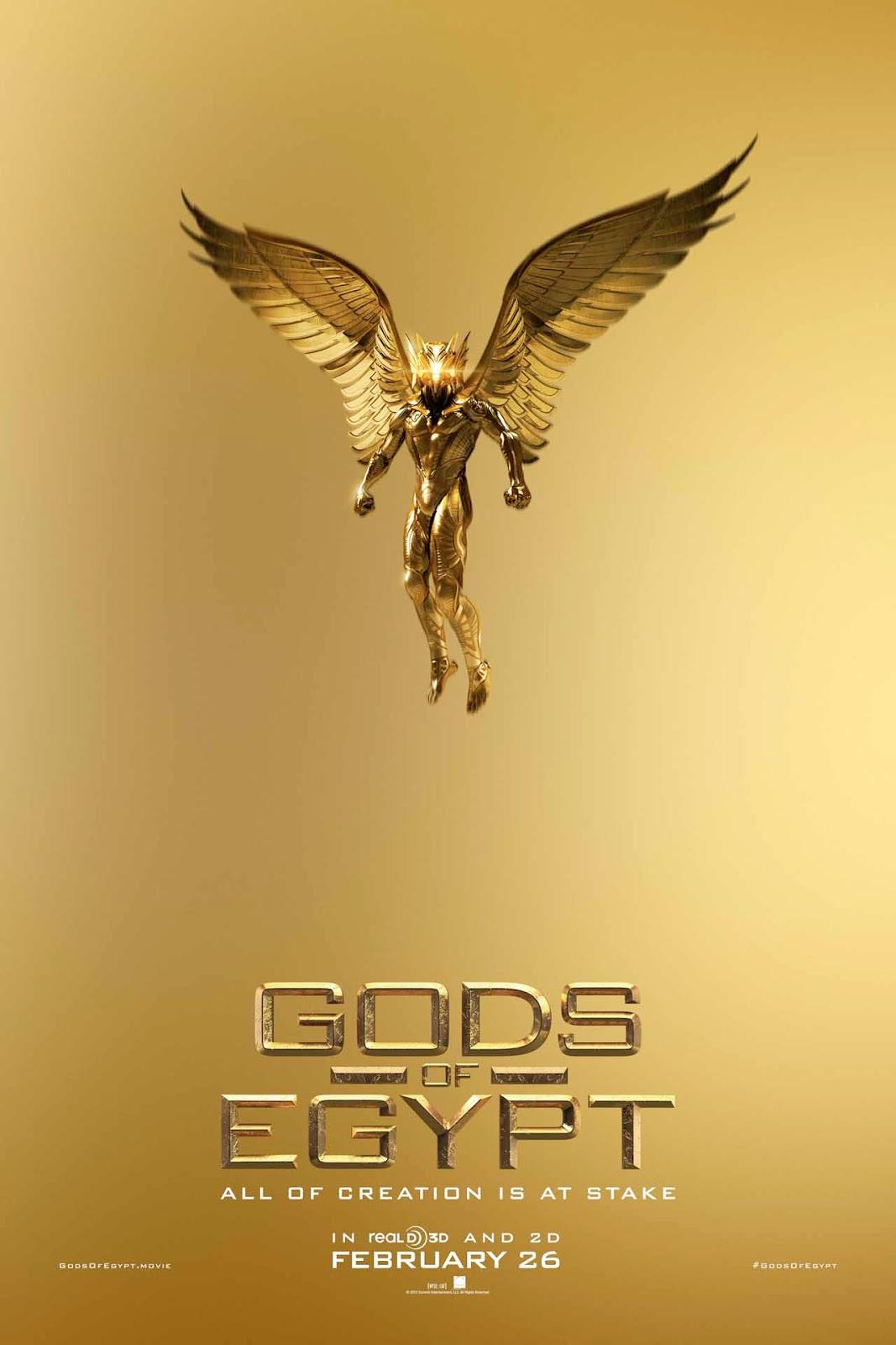 graig and david sometimes disagree: 3 Short Paragraphs: Gods of Egypt