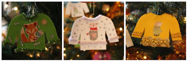 Decoraciones para el árbol de navidad