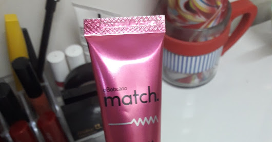 RESENHA: Mascara Match do O Boticário