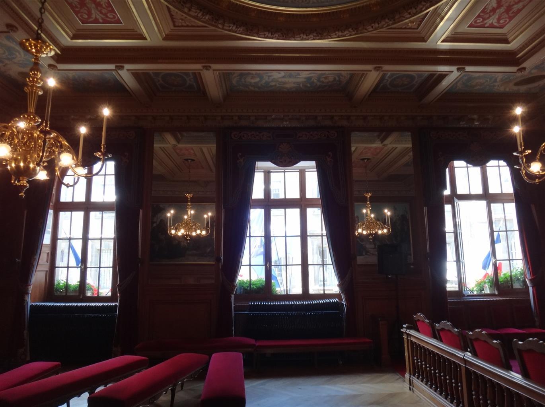 Paris Bise Art Salle Des Mariages Mairie Du Ii