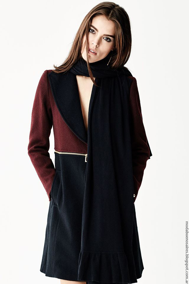Naima tapados invierno 2016 ropa de mujer.