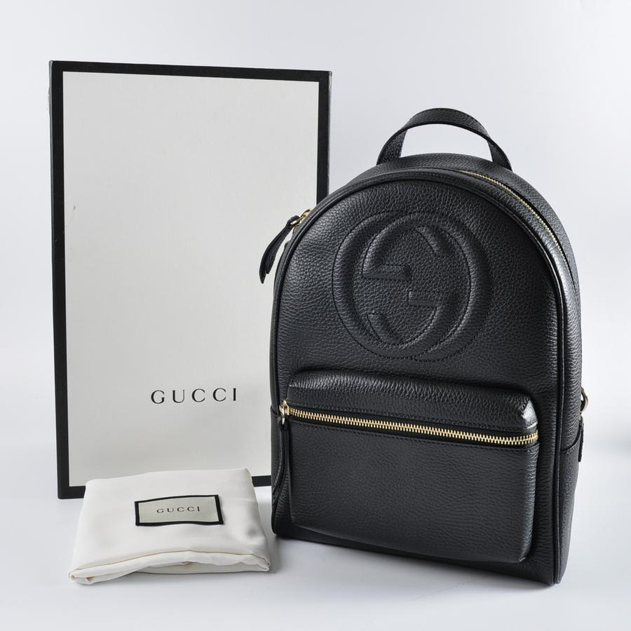 c70e06b4ee23 Gucci 431570 Soho Leather Chain Backpack (Like New condition) Retails for  RM 6680. Now RM 5580