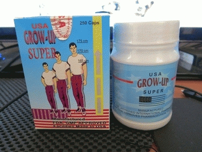 Grow Up Super USA Peninggi Badan