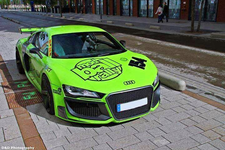 New Green Racing Car