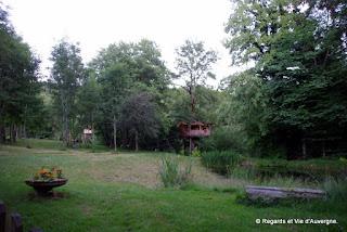 Les cabanes du Marodier, Vollore-Ville