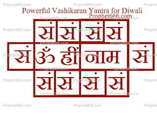 Vashikaran Yantra Experiment for Diwali Night