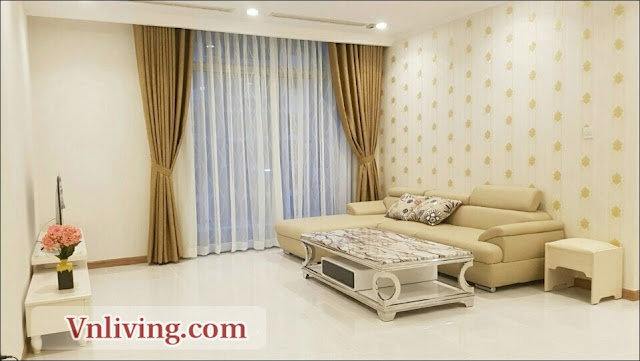 Saigon Pearl 3 bedrooms apartment for rent nice furniture