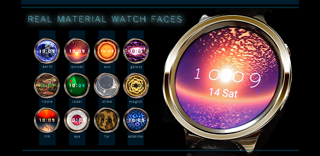 Android WearのFace Watch作りました