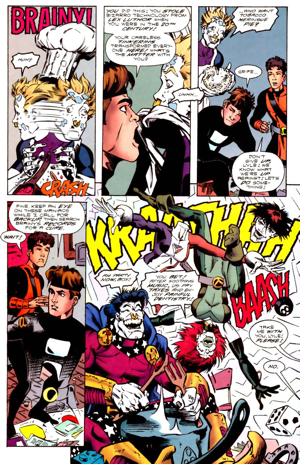 Legion of Super-Heroes (1989) 114 Page 11