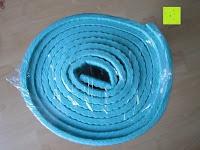 gerollt: Yogamatte »Annapurna Comfort« / Die ideale Übungs-Matte für Yoga, Pilates, Gymnastik. Maße: 183 x 61 x 0,5cm / In vielen Trend-Farben erhältlich.