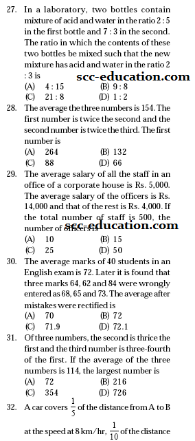 SSC Mathematics  sample Questions,previous year paper ,model test paper for ssc,ctet,scc,cgl,
