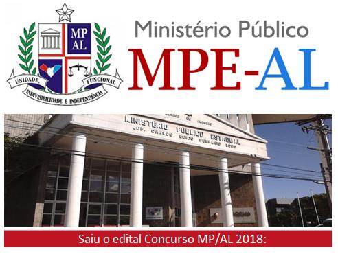 Apostila concurso MP-AL 2018: Técnico do Ministério Público