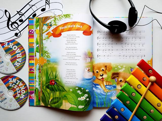 piosenki dla dzieci na każdy dzień - wielka księga zagadek i łamigłówek - wydawnictwo GREG - książeczki dla dzieci - płyty z piosenkami dla dzieci