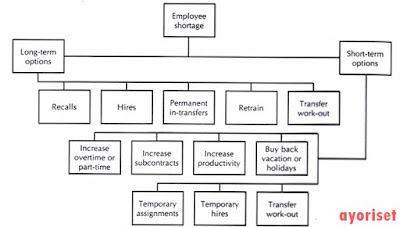 Staffing Alternatives to Deal with Employee Shortages Source: Compliments of Dan Ward, GTE Corporation