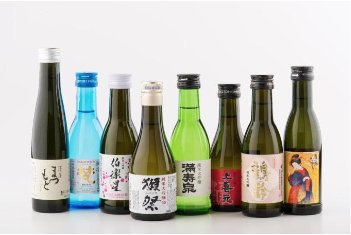 Japanese Sake offered in JAL Business Class
