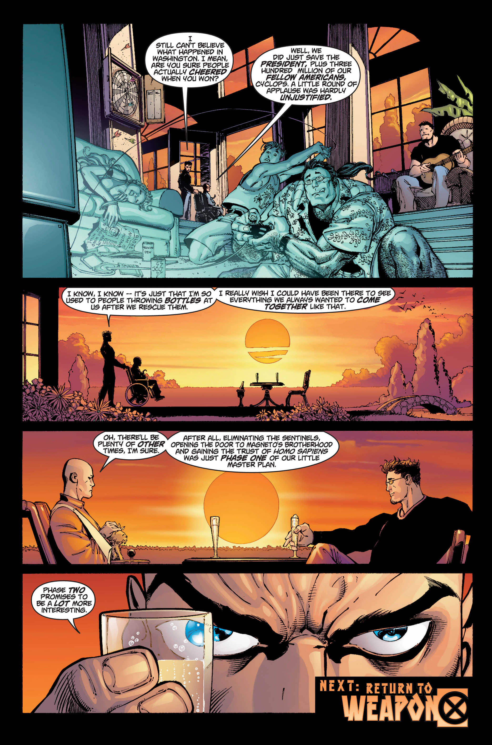 Read online Ultimate X-Men comic -  Issue #6 - 23