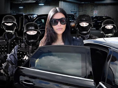 Kim K warns Bandits: You Could End Up Dead