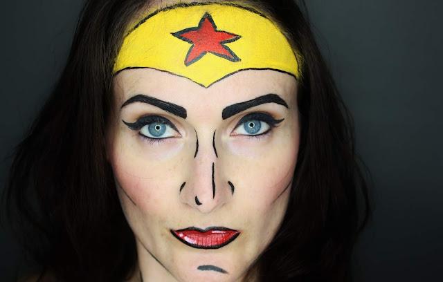 maquillage-comics-pop-art