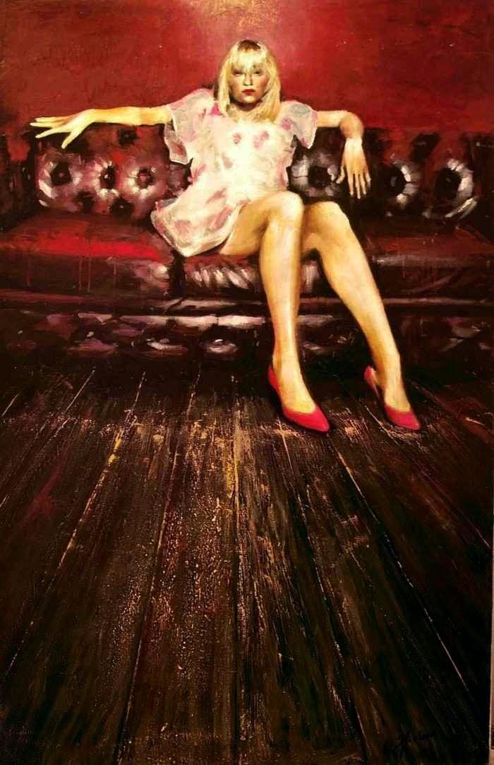 Греческий художник-реалист. Tasos Chonias