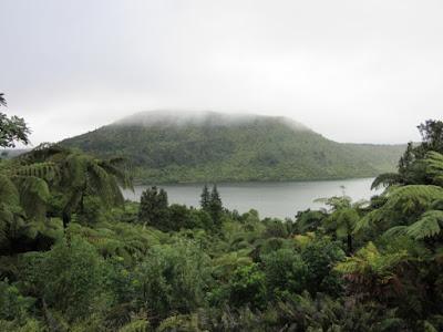 Lago Rotokakahi, Nueva Zelanda
