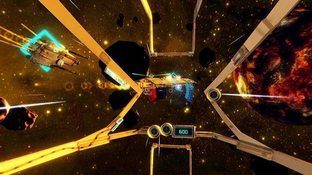 Space VR Game for Android Cardboard