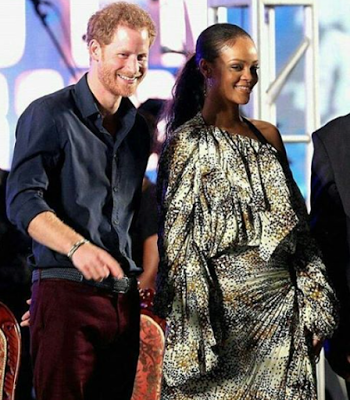 Photos: Rihanna welcomes Prince Harry in Barbados for their Independence Day