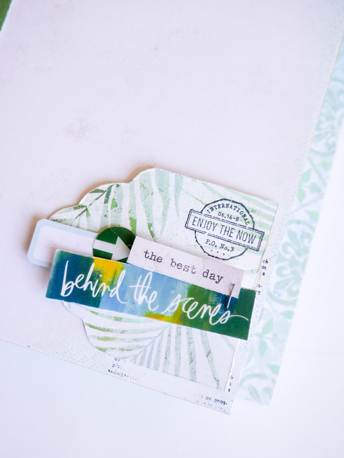 Creating a Heidi Swapp Art Walk Adventure Mini Album by Jamie Pate