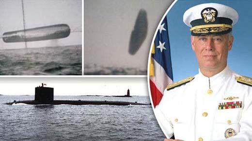 Imagenes filtradas tomadas desde submarino muestran a masivos OVNIs flotando sobre el Océano Atlántico