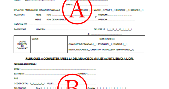 France how to fill out ofii form visa - Ofii office francais immigration integration ...