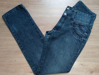 calça jeans Dizzem tam 44