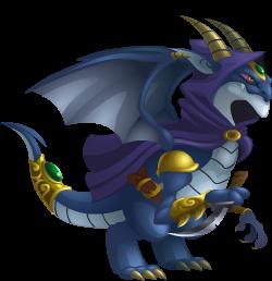 Dragón Elfo Oscuro