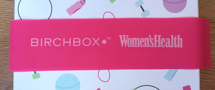 Women's Health Pilates Band - Birchbox and Women's Health January 2015 box
