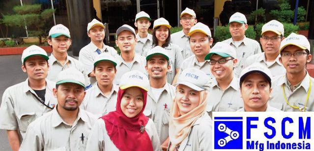 Lowongan Kerja PT. FSCM Manufacturing Indonesia, Jobs: Produksi, Rekayasa Proses.