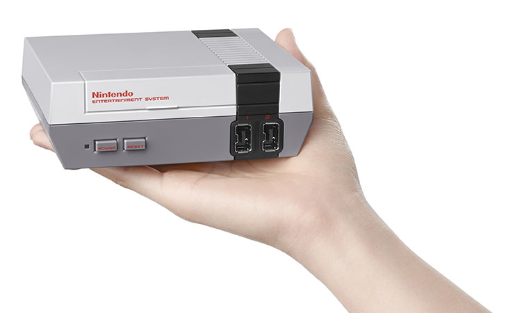 NES Classic Edition Todays Modern And Miniaturized Nintendo Entertainment System That Fits In The Palm Of Your Hand