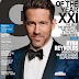 RYAN REYNOLDS COVERS 'GQ' MEN OF THE YEAR ISSUE TALKS ABOUT HAVING ANXIETY