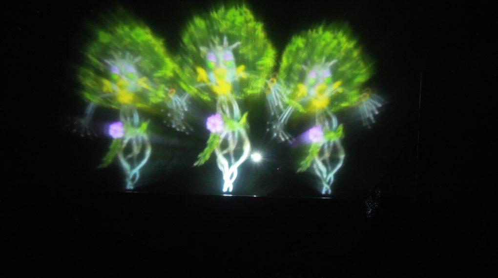 Light show at Manila Ocean Park