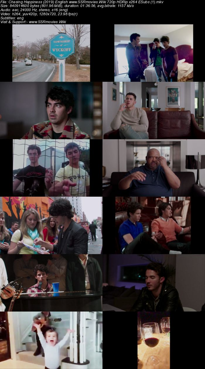Chasing Happiness (2019) English 480p HDRip x264 300MB ESubs Movie Download