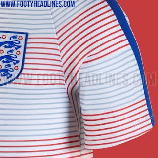 Detail bocoran jersey Prematch Timnas Inggris di euro 2016 di enkosa sport toko online terpercaya lokasi di jakarta pasar tanah abang