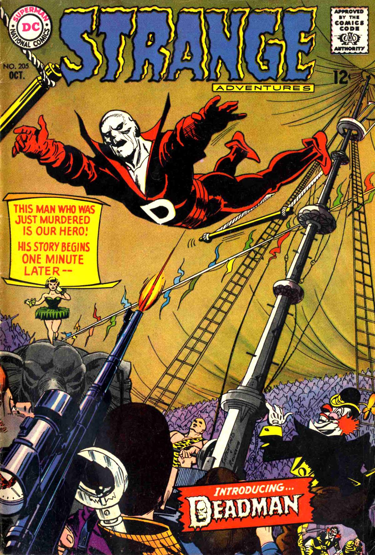 Strange Adventures (1950) issue 205 - Page 1